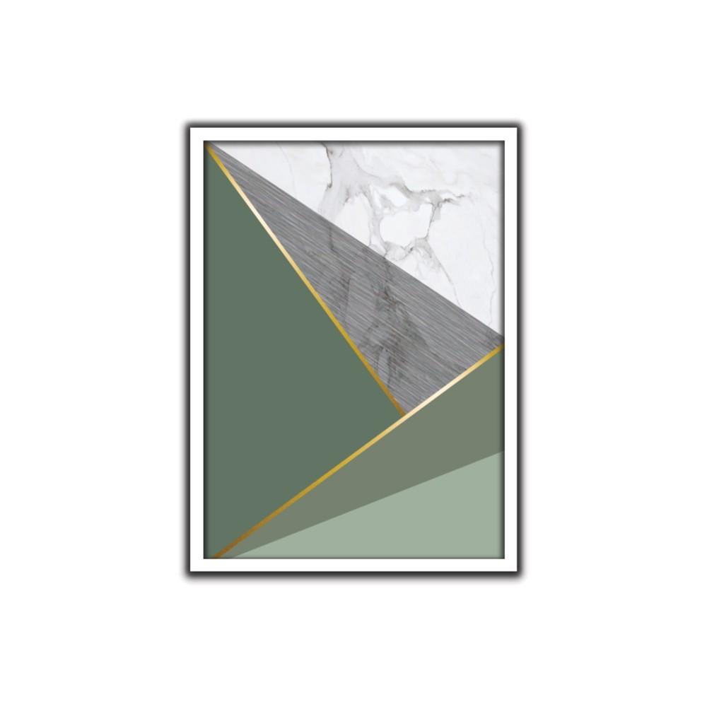 Quadro Decorativo 50x70 cm Geometrico 9087 - Art Frame