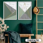 Quadro Decorativo 50x70 cm Geométrico 908/7 - Art Frame