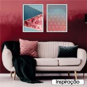 Quadro Decorativo 50x70 cm Geométrico 908/10 - Art Frame