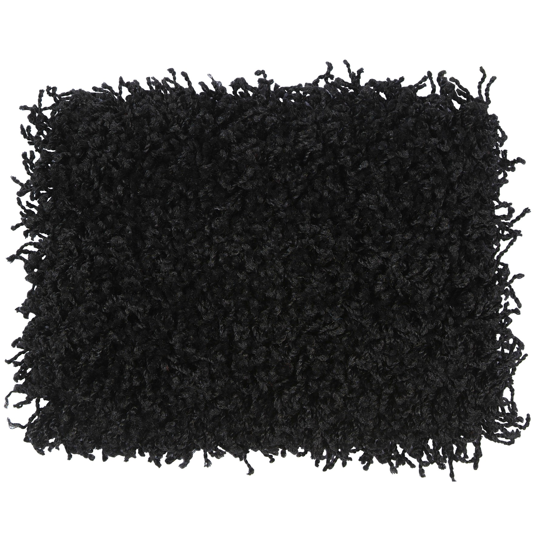 Tapete Tufting Clemant 50x100cm Preto - Tapetes SCarlos