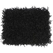 Tapete Tufting Clemant 50x100cm Preto - Tapetes S.Carlos