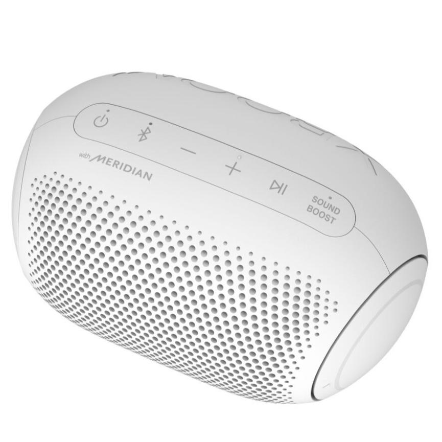 Caixa de Som LG Xboom Go PL2 Portatil Bluetooth 5w IPX5 Branca