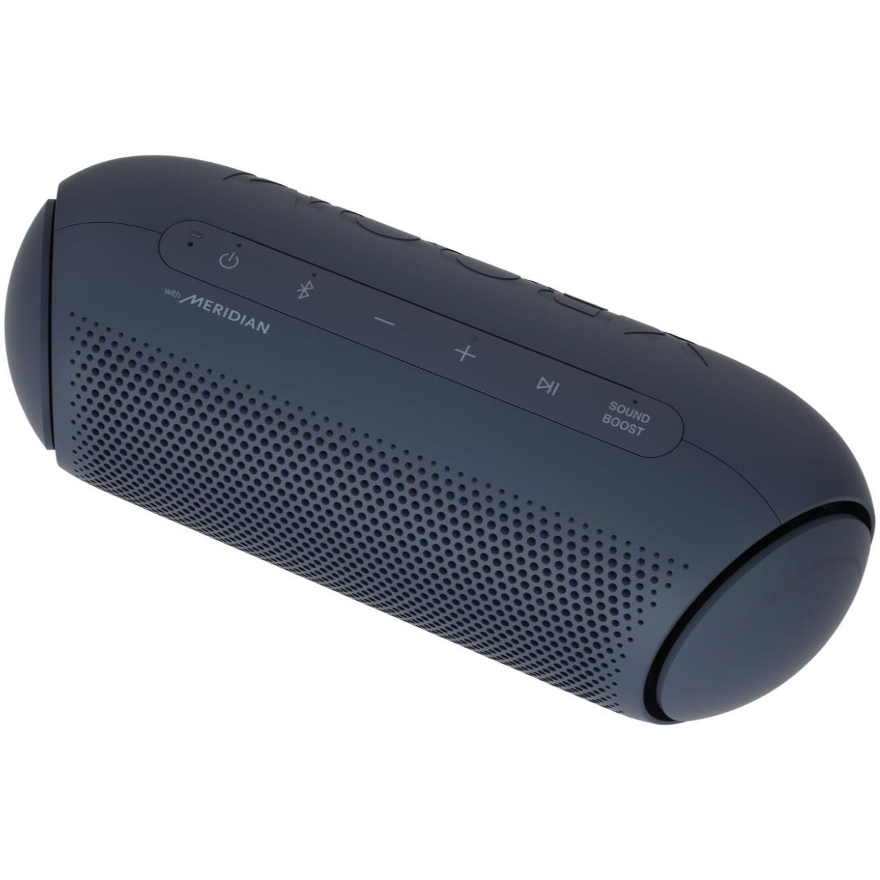 Caixa de Som LG Xboom Go PL5 Portatil Bluetooth IPX5 Azul Petroleo