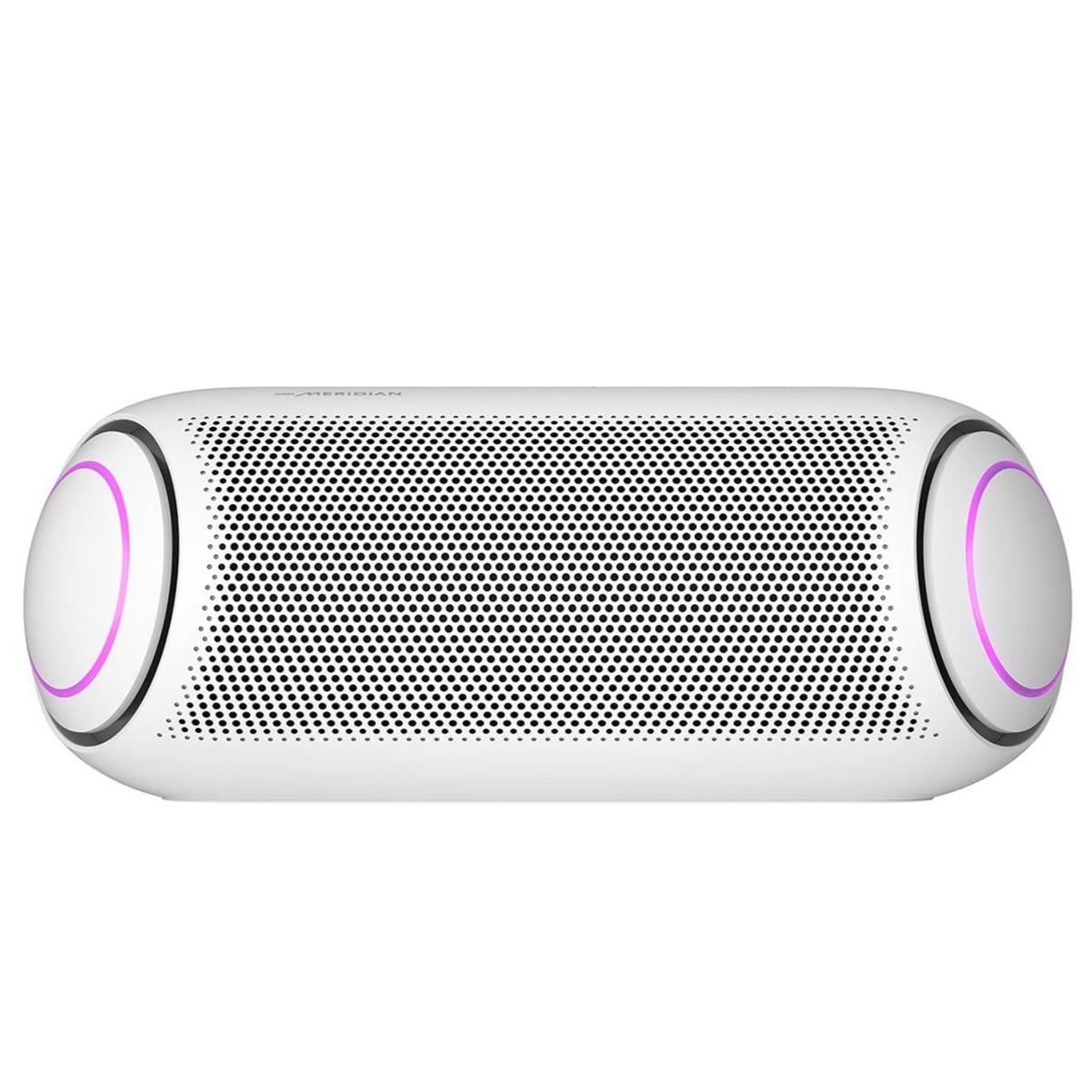 Caixa de Som LG Xboom Go PL7 Portatil Bluetooth IPX5 Branca