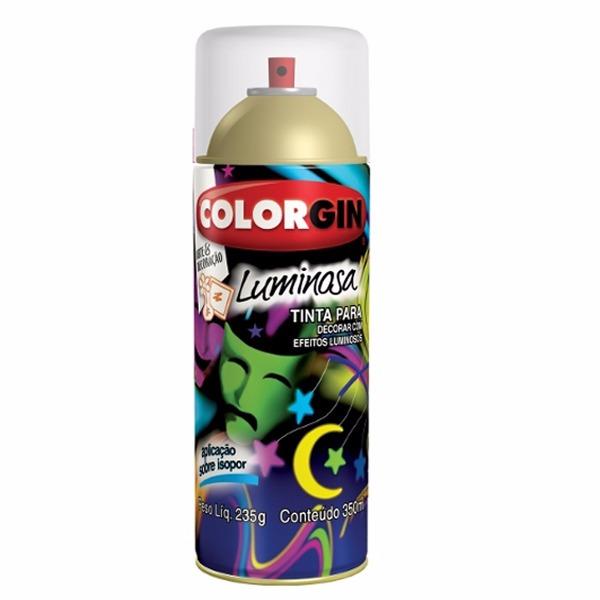 Verniz Spray Protetor Para Luminosa Brilhante - Incolor - 0350L - Colorgin