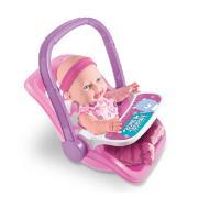 Boneca Sapekinha com Bebê Conforto - Milk
