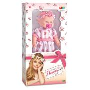 Boneca Sweet Flower Doll - Milk