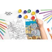 Jogo Monte e Pinte Safari 24 peças - Pais e Filhos