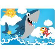 Jogo Quebra-Cabeça Tubarão 24 peças - Pais e Filhos