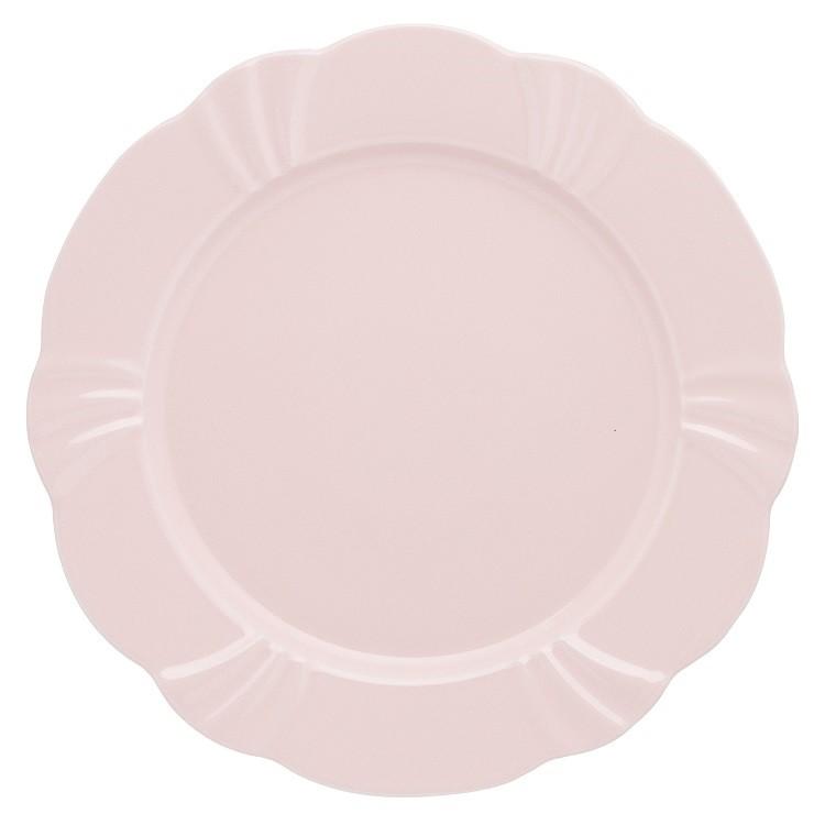 Prato Raso Redondo em Porcelana Solei Blush 29cm - Oxford