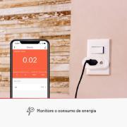 Tomada Inteligente Wi-Fi Smart Plug 10A - Lis