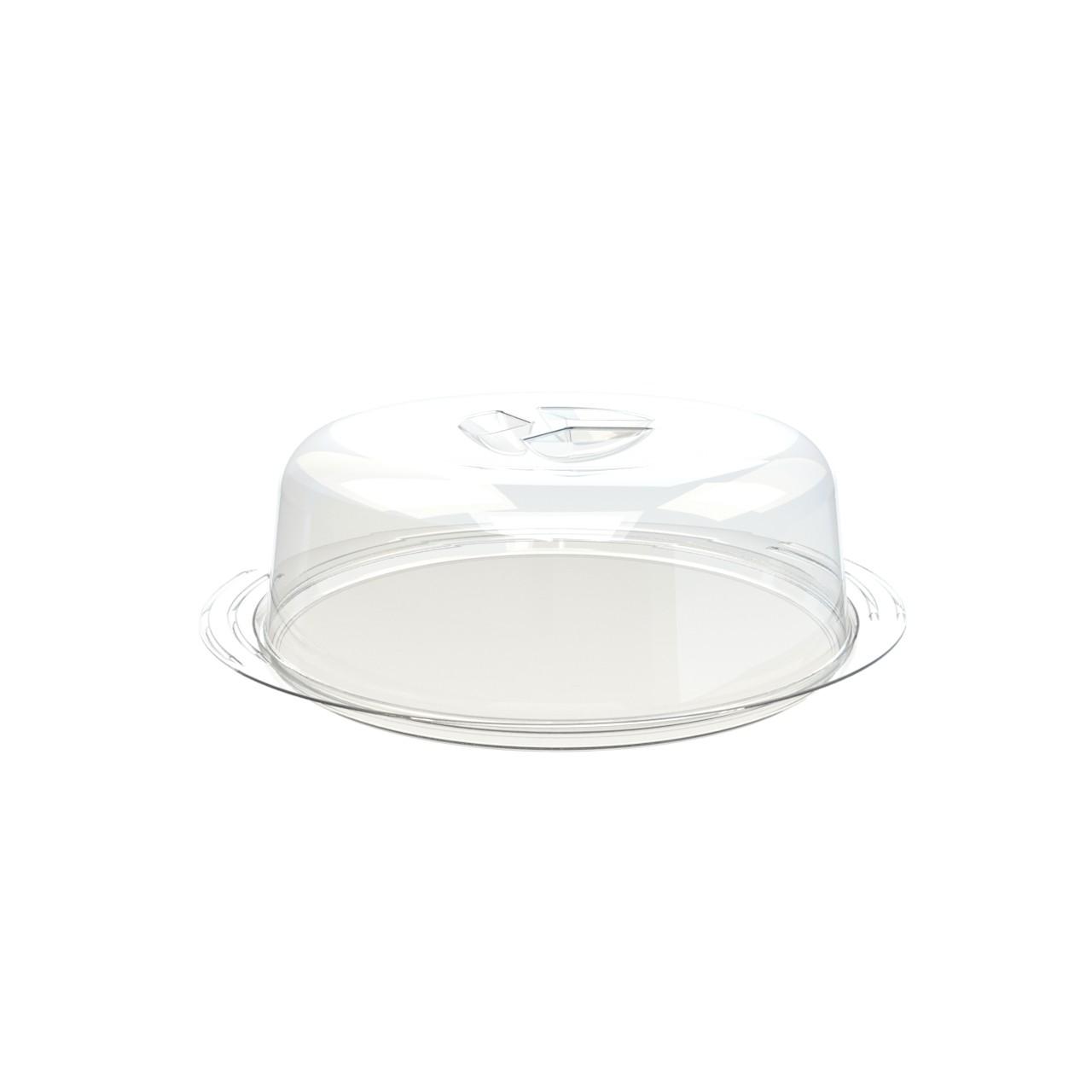 Boleira de Plastico 31cm Branco - Utility