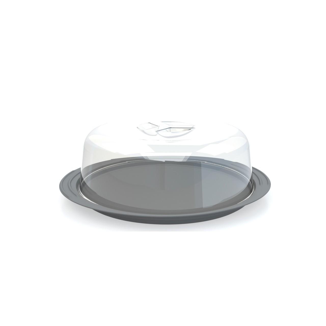 Boleiro Plastico 31cm Cinza - Utility