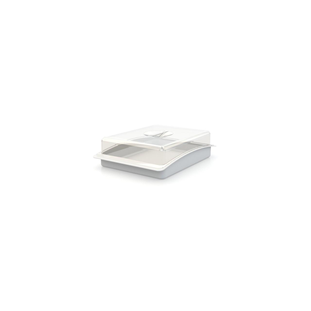 Porta-frios de Plastico com Tampa 22x1670 cm Utility Branco - 175