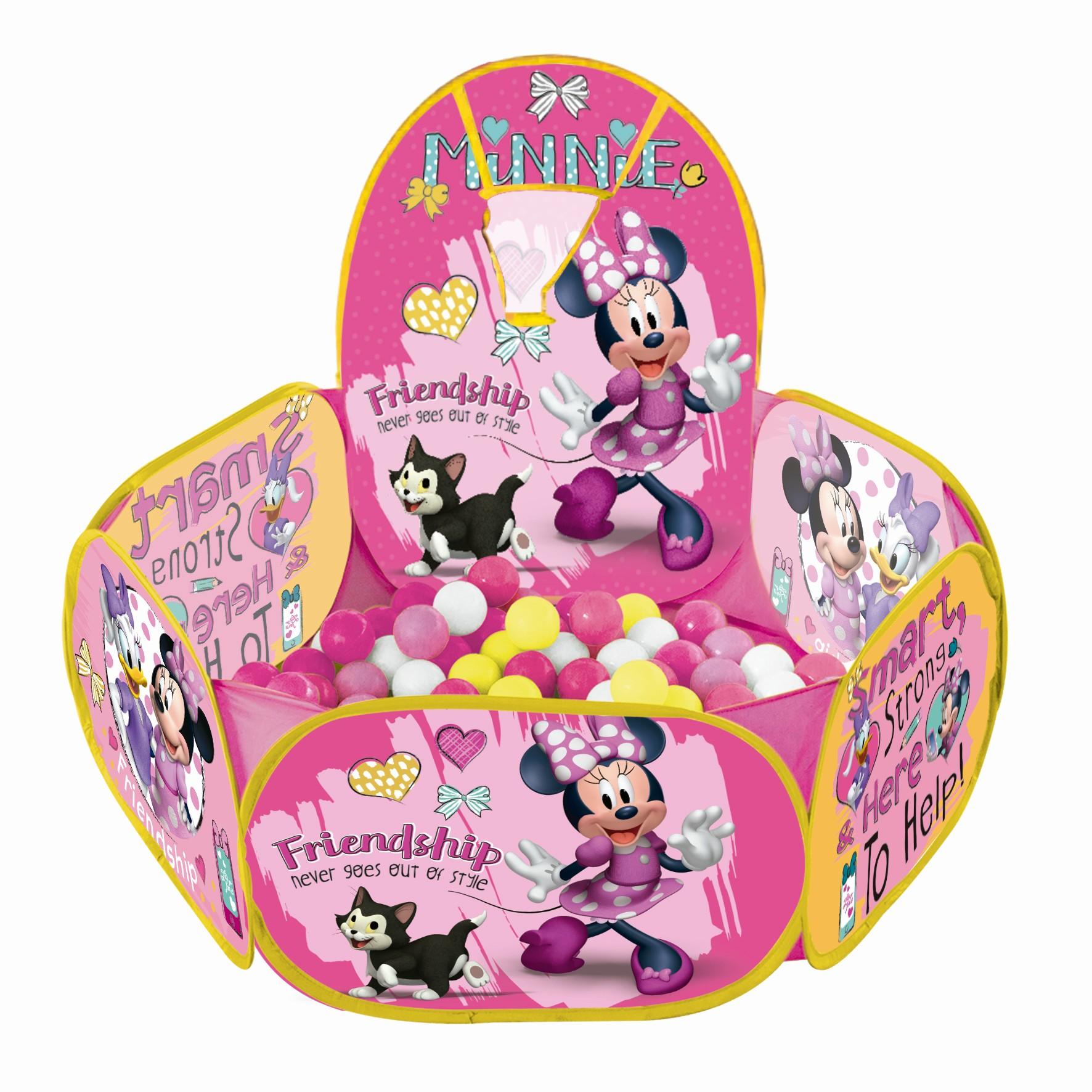 Piscina Inflavel Cesta Minnie - Zippy Toys