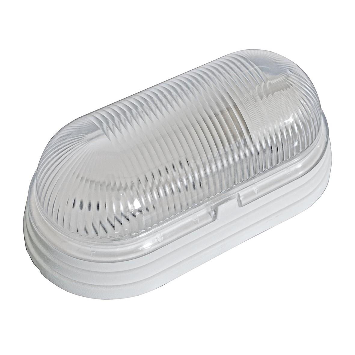 Luminaria Oval Plastica Tartaruga Branca Bivolt - Dital