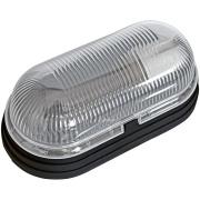 Luminária Oval Plástica Tartaruga Preta Bivolt - Dital