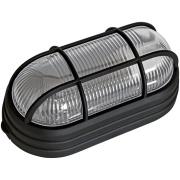 Luminária Plástica Tartaruga com Grade Bivolt Preto - Dital