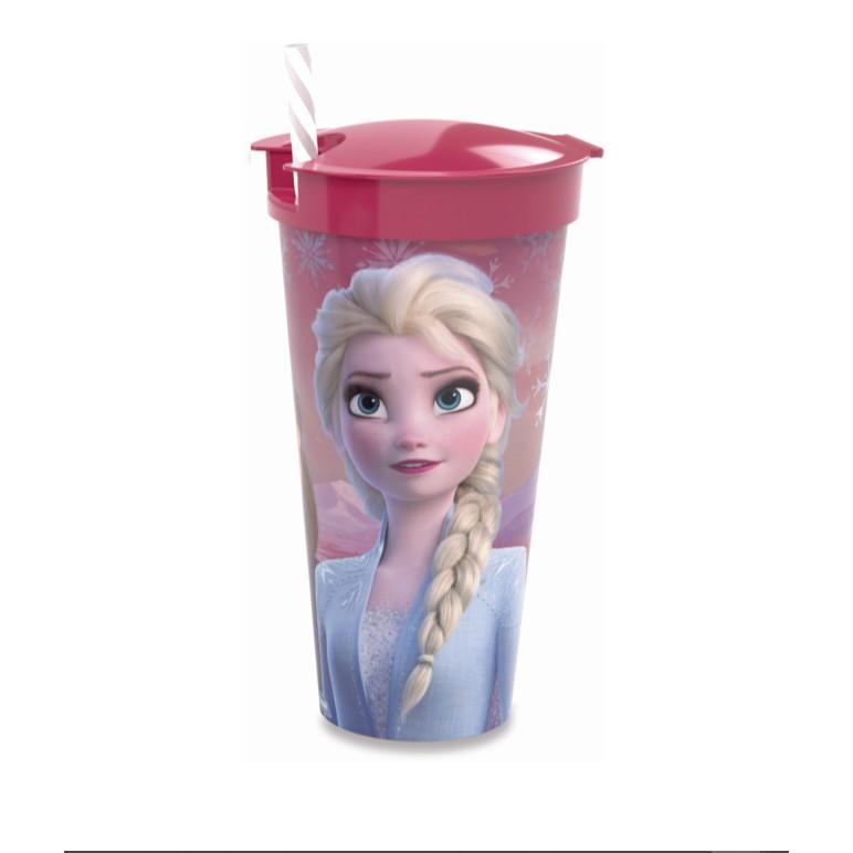 Copo 2 em 1 Frozen 540 ml - Plasutil