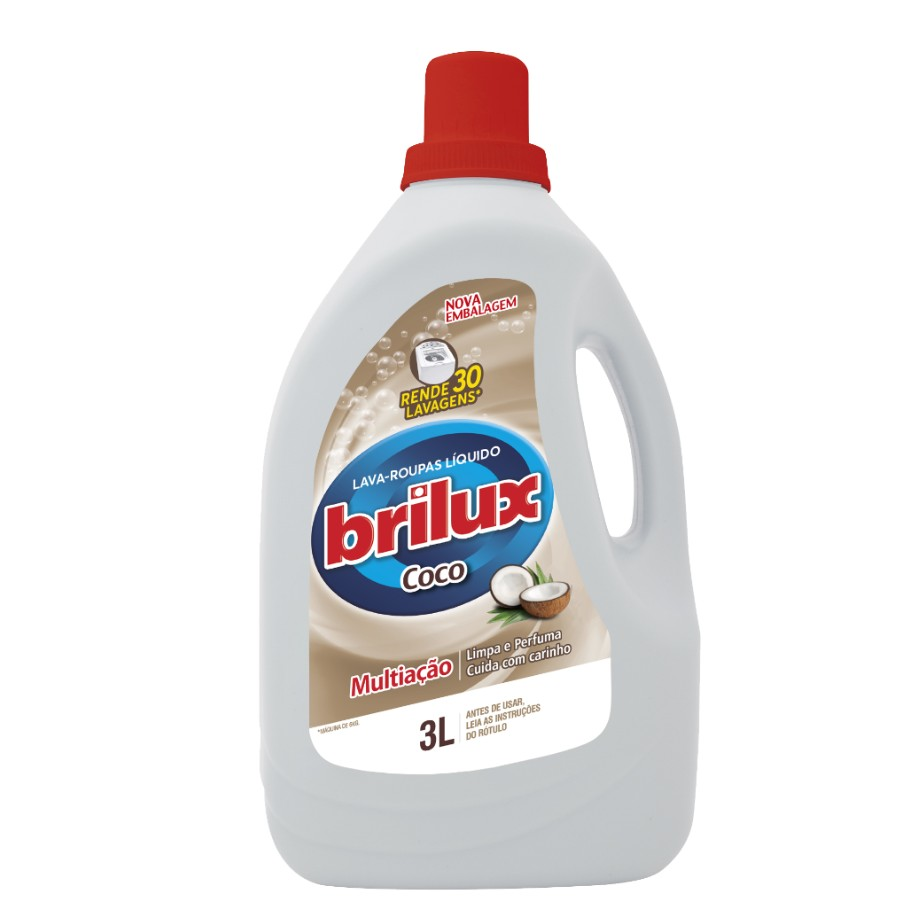 Sabao Liquido para Roupas 3L Coco - Brilux