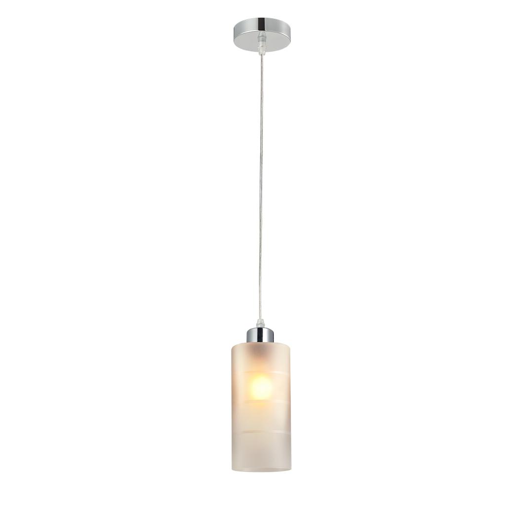 Lustre Primus Alba de Vidro para 1 Lampada Branco - Avant