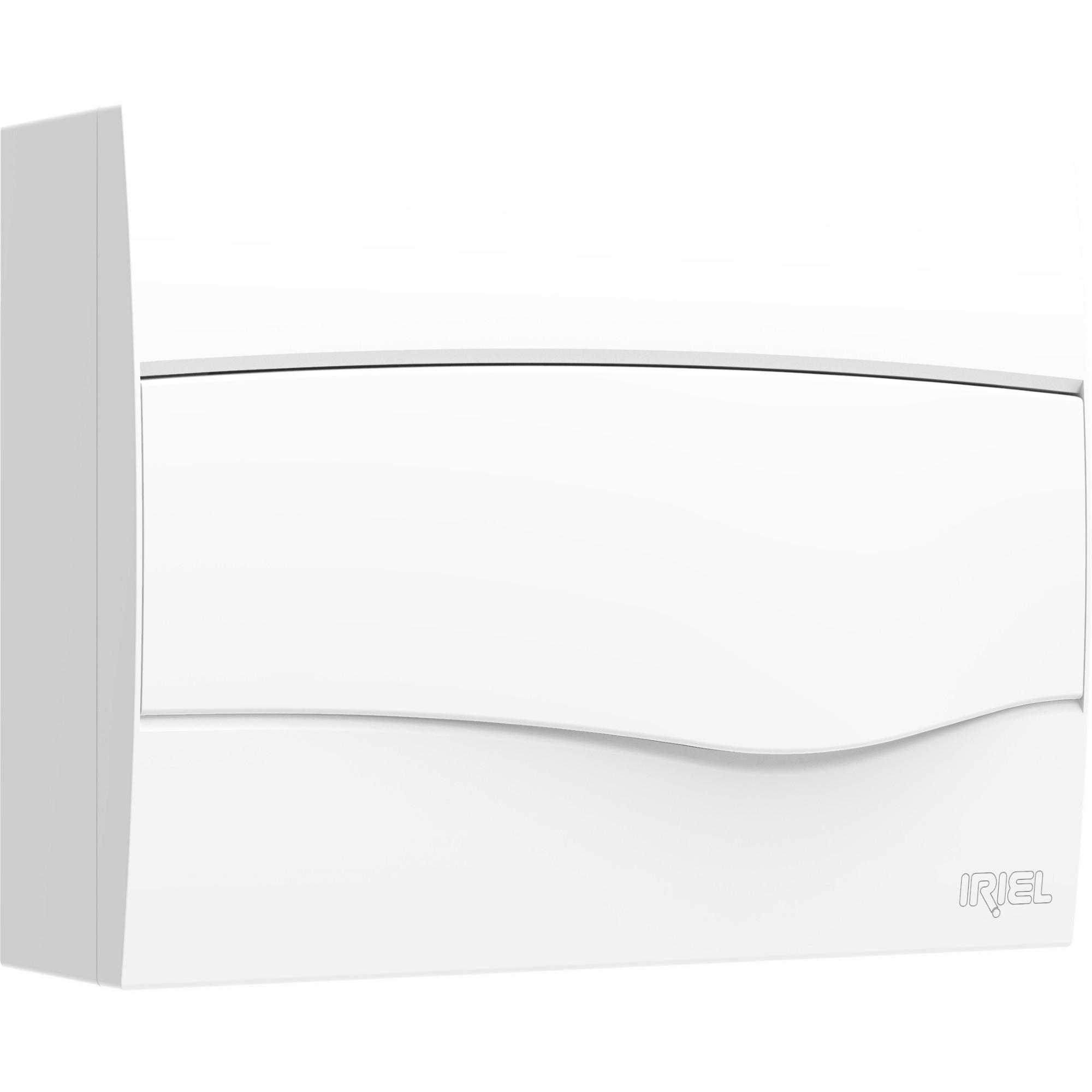 Quadro de Distribuicao Iriel Universal Sobrepor 52x34x52cm para 12 Disjuntores Branco - 8GB0 122-0MB - Siemens