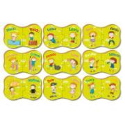Quebra-Cabeça 18 peças Aprendendo os Opostos - Brincadeira de Criança