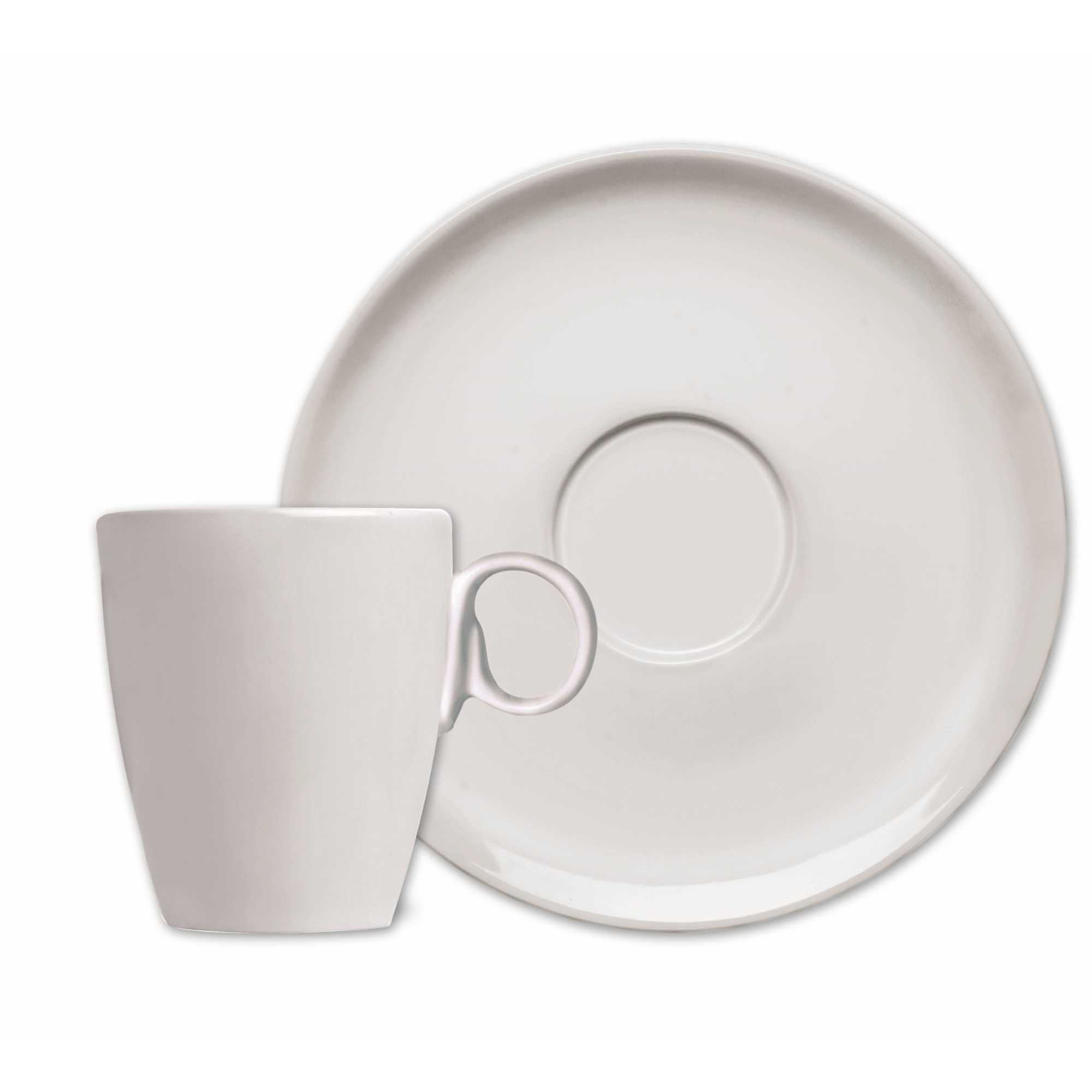 Xicara de Cha Holandesa de Porcelana 200ml com Pires - GermerCaixa de 12 un