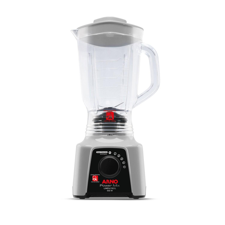 Liquidificador Arno Power Mix Limpa Facil 550w 5 Velocidades 220V Branco - LQ31