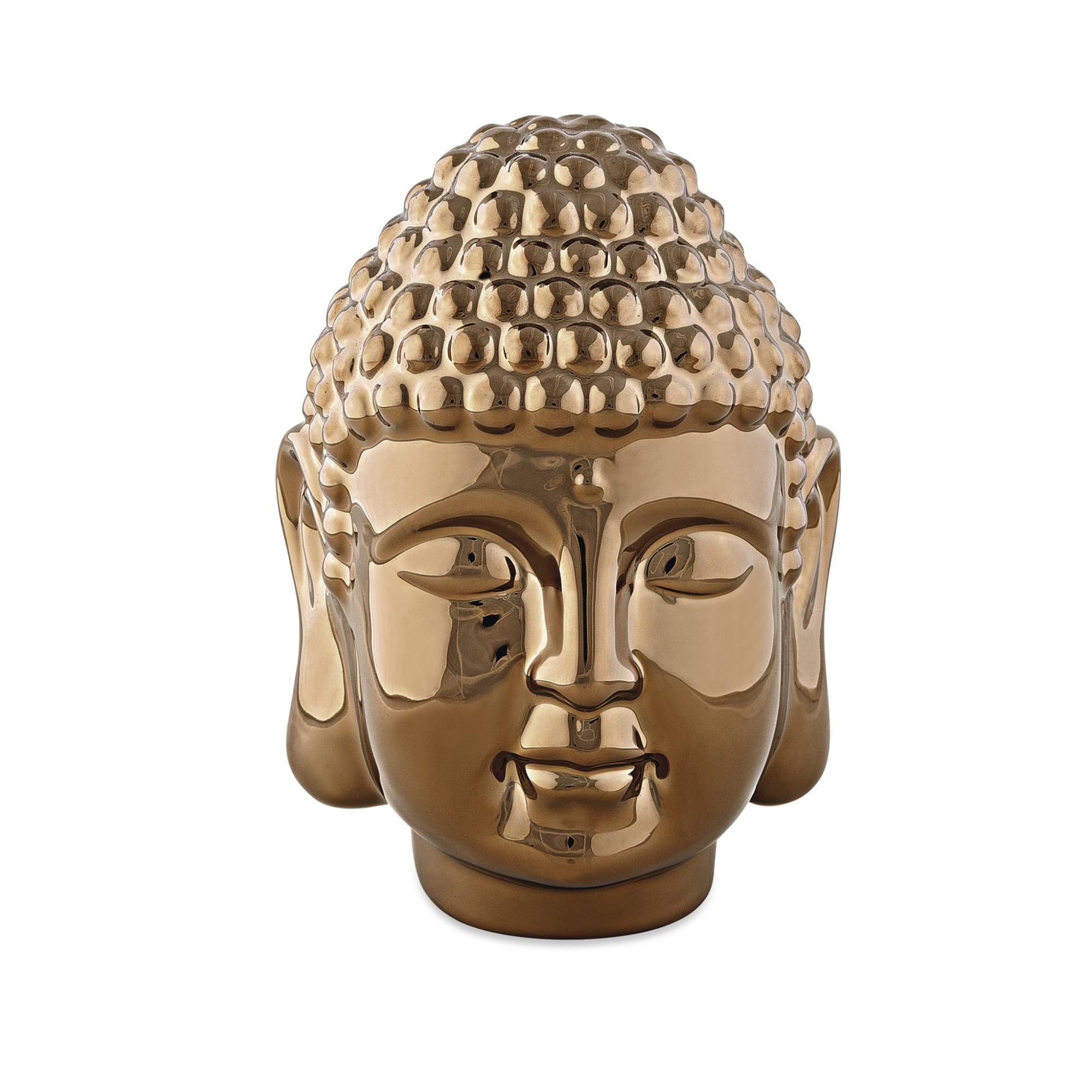 Enfeite Decorativo Buda de Ceramica 15 cm - Mart