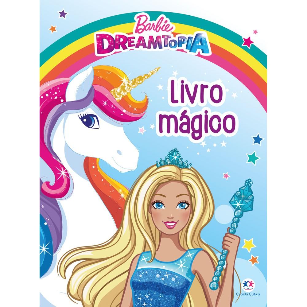 Livro Magico Barbie - Ciranda Cultural