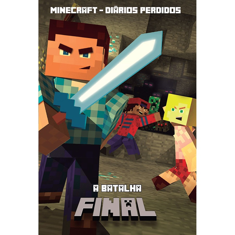 Livro Minecraft A Batalha Final Vol3 - Ciranda Cultural
