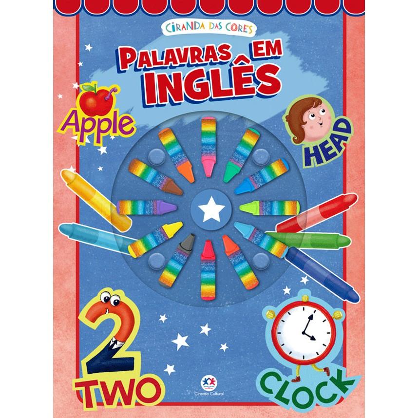 Livro Primeiras Palavras em Ingles - Ciranda Cultural