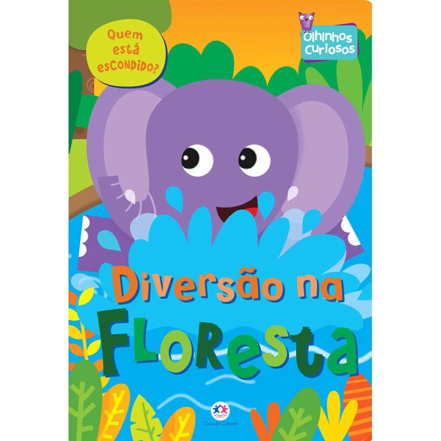 Livro Diversao na Floresta - Ciranda Cultural