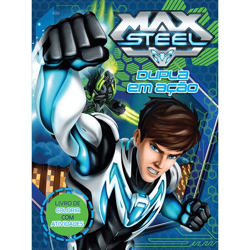 Livro Max Steel Dupla em Acao - Ciranda Cultural