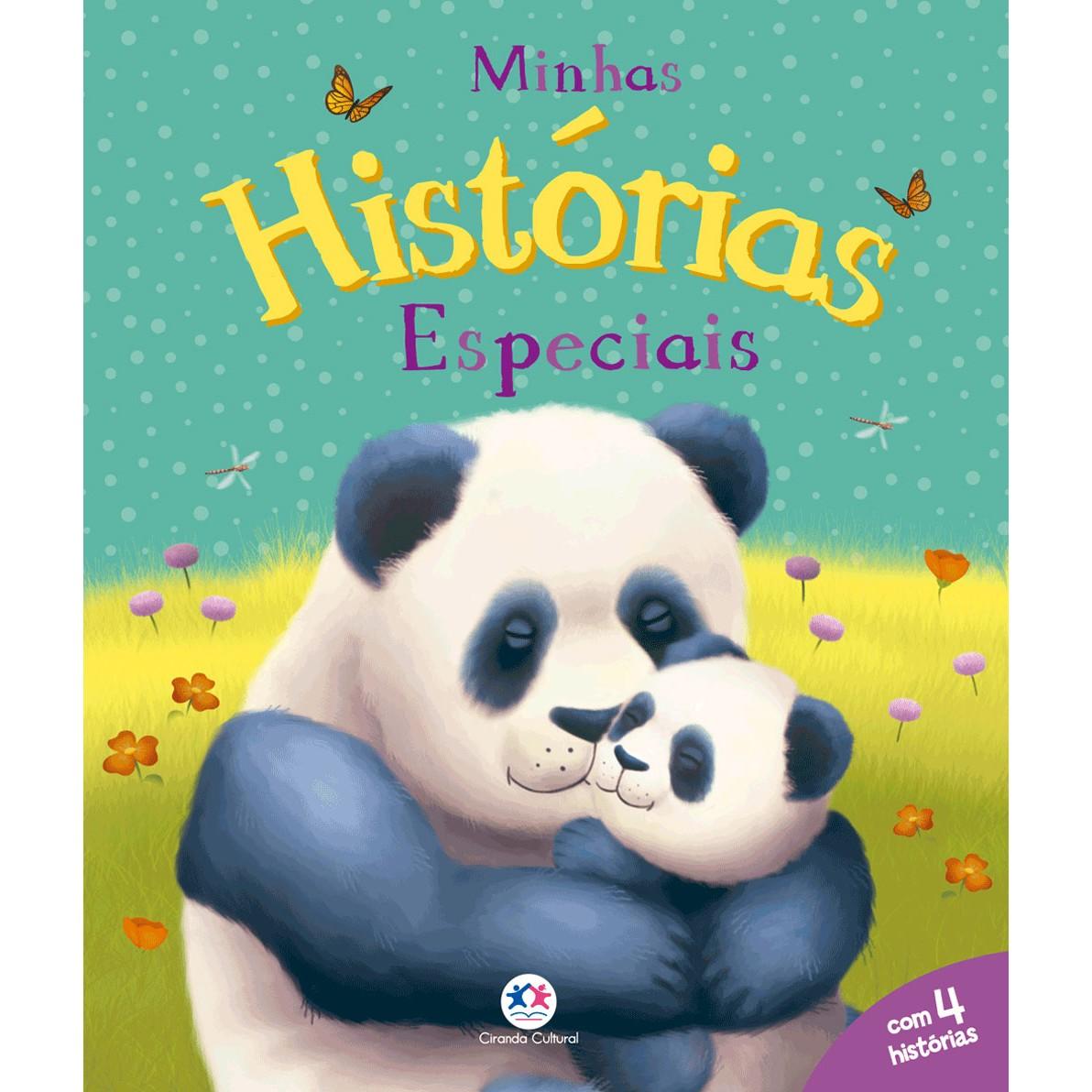 Livro Minhas Historias Especiais - Ciranda Cultural