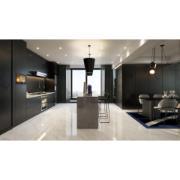 imagem de um apartamento amplo com a cerâmica ícaro polido cerbras no chão