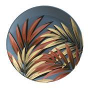 Prato Raso Sumatra Redondo em Cerâmica Azul - Porto Brasil