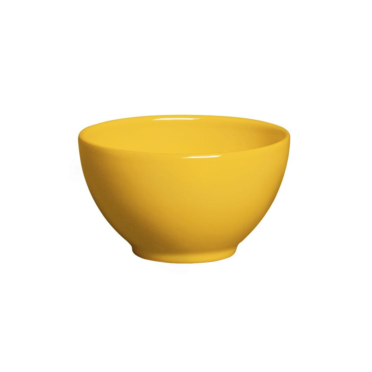 Tigela de Ceramica 587ml Mostarda - Porto Brasil