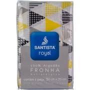 Fronha Avulsa Royal 50x70 cm Cinza - Santista