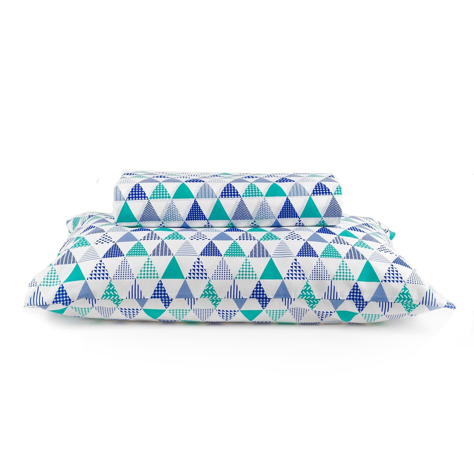 Fronha Avulsa Royal 50x70 cm Line Azul - Santista
