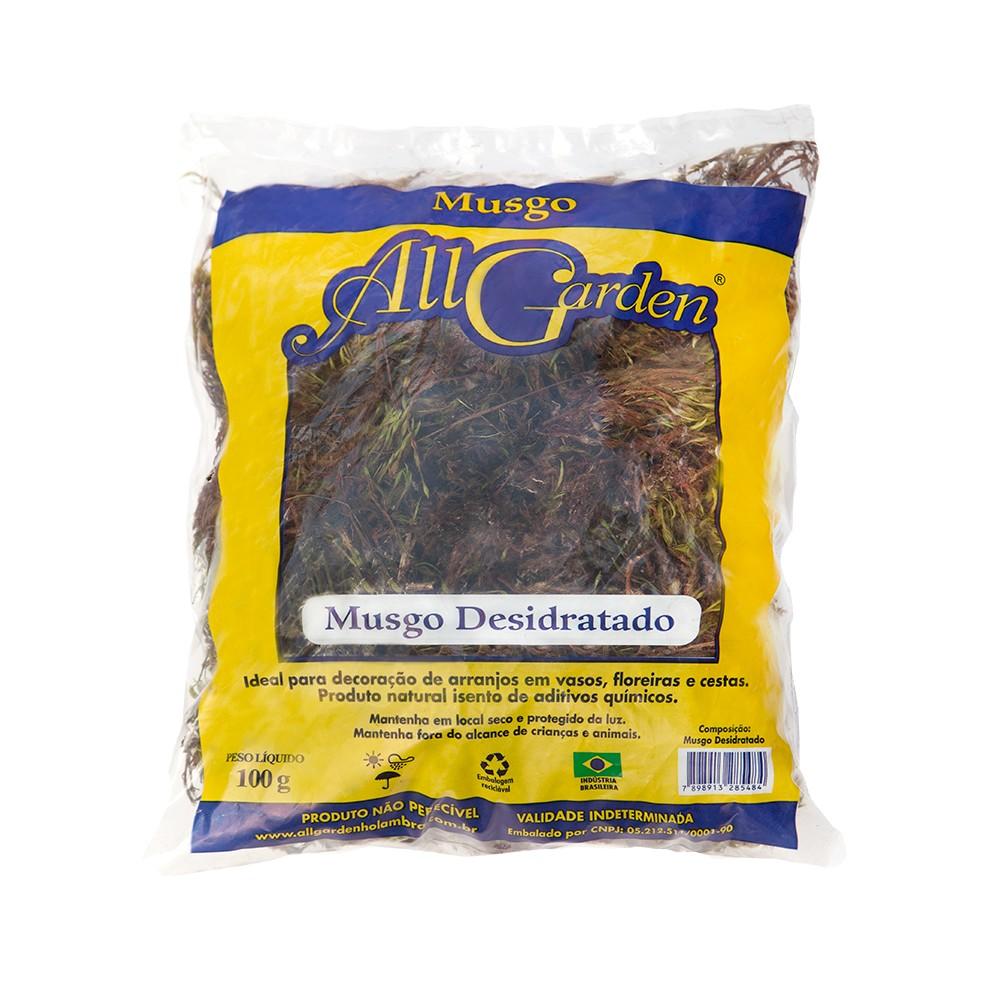 Musgo Desidratado 100 gramas - All Garden