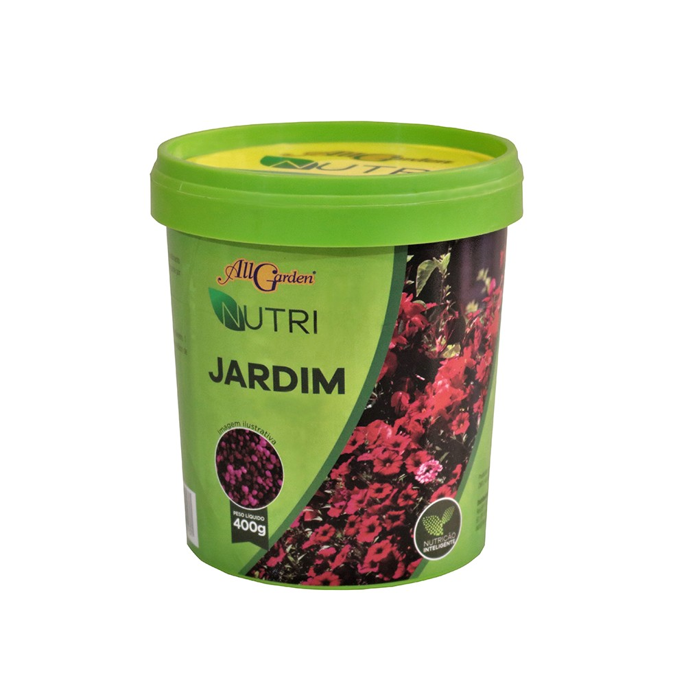 Fertilizante Nutri para Jardim 400g Granulado - All Garden
