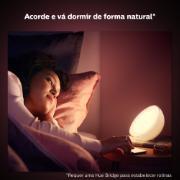 Luminária Smart LED Philips Hue Go Portátil Meia Lua 6w - Branca