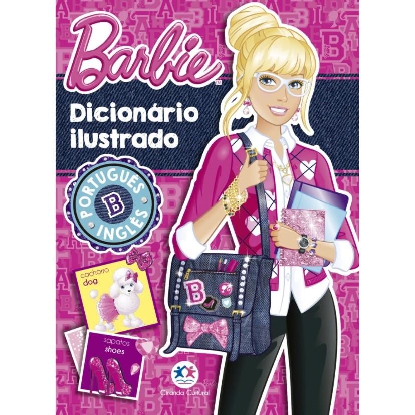 Livro Barbie Dicionario Ilustrado - Ciranda Cultural