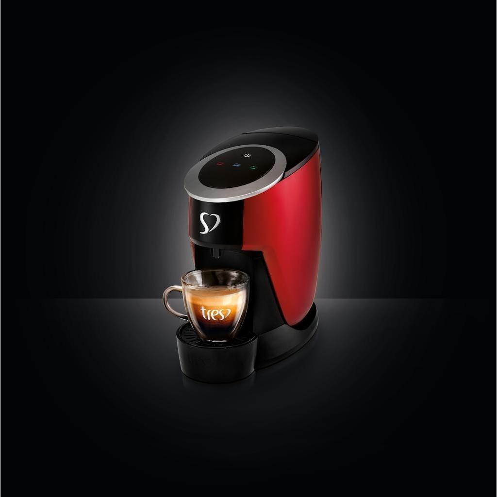 Cafeteira Expresso Tres Touch Vermelho 220v - G2