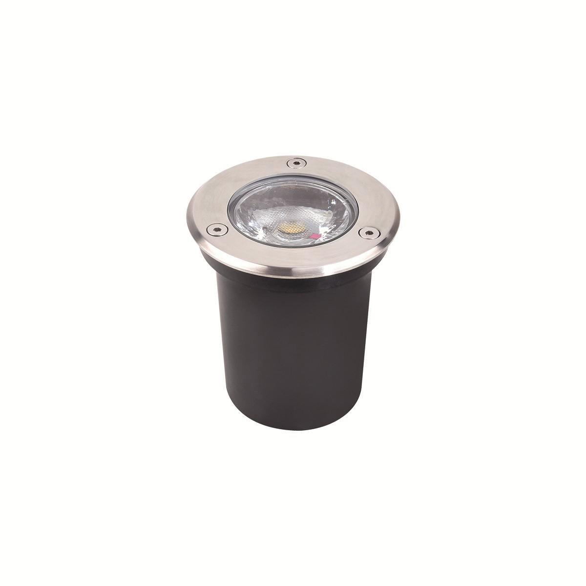 Luminaria de Embutir Balizador LED 3W Luz Branca Bivolt - Luminatti