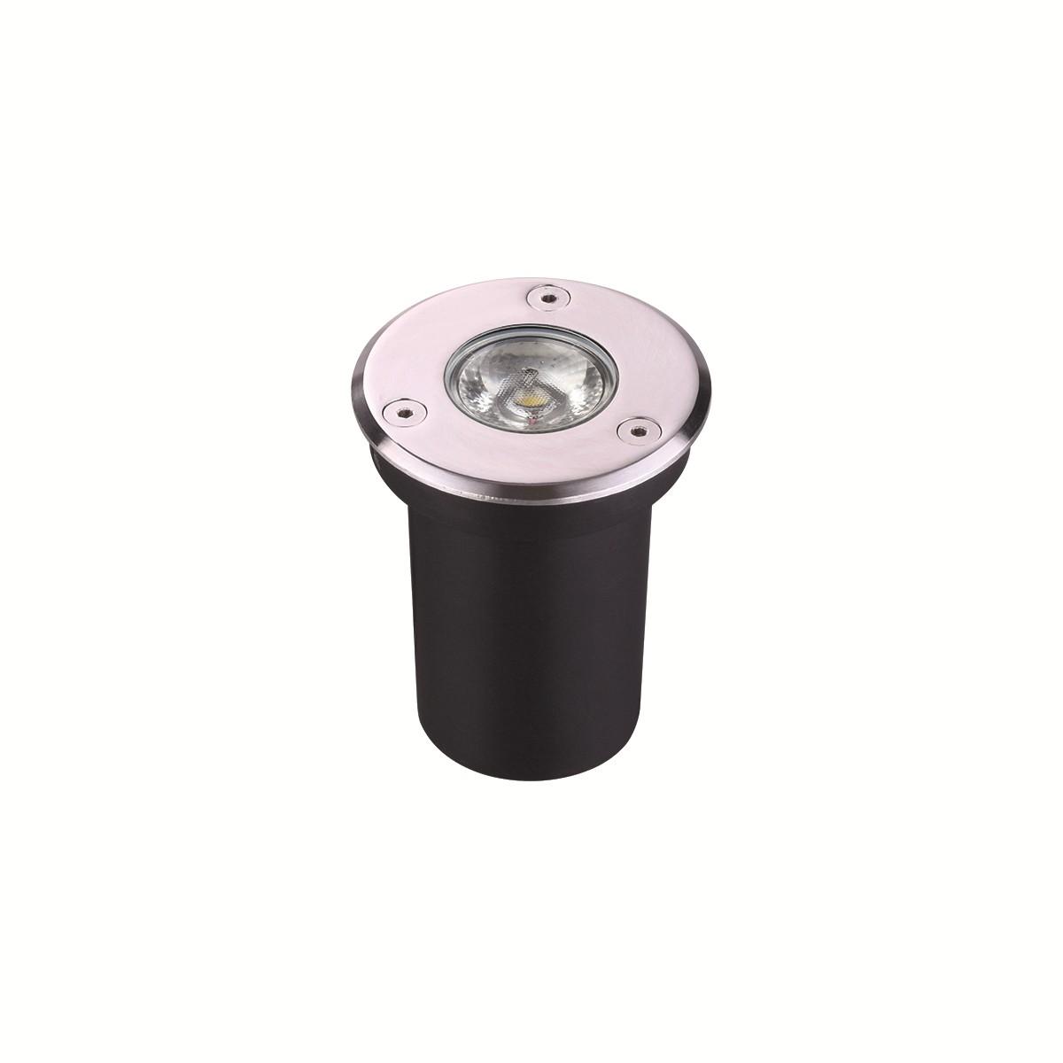 Luminaria de Embutir Balizador LED 6W Luz Branca Bivolt - Luminatti