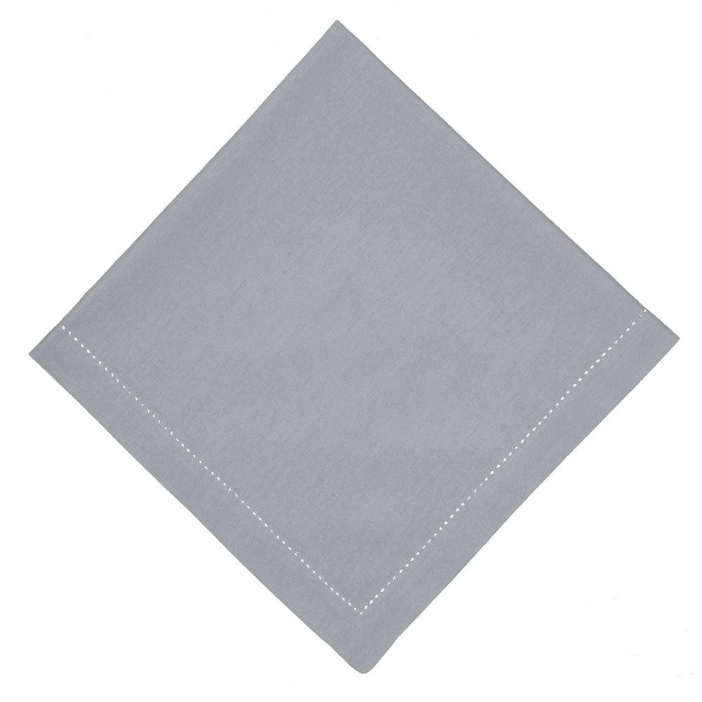 Pano Americano Retangular Cinza 35x50 cm 1 Peca 100 Algodao - Rafimex