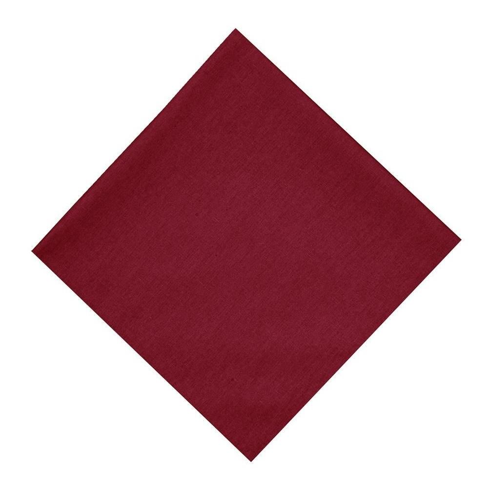 Guardanapo de Tecido Vermelho 45x45 cm Ponto Ajour - Rafimex
